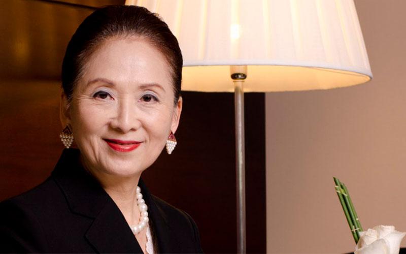a empreededora de sucesso Chieko Aoki